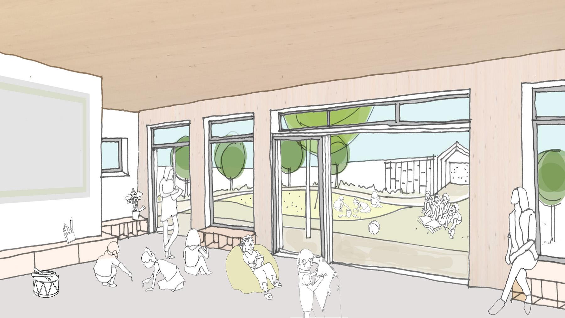 Sarah-Wigglesworth-Architects Portland-Nursery Internal-View-1 1800-slide