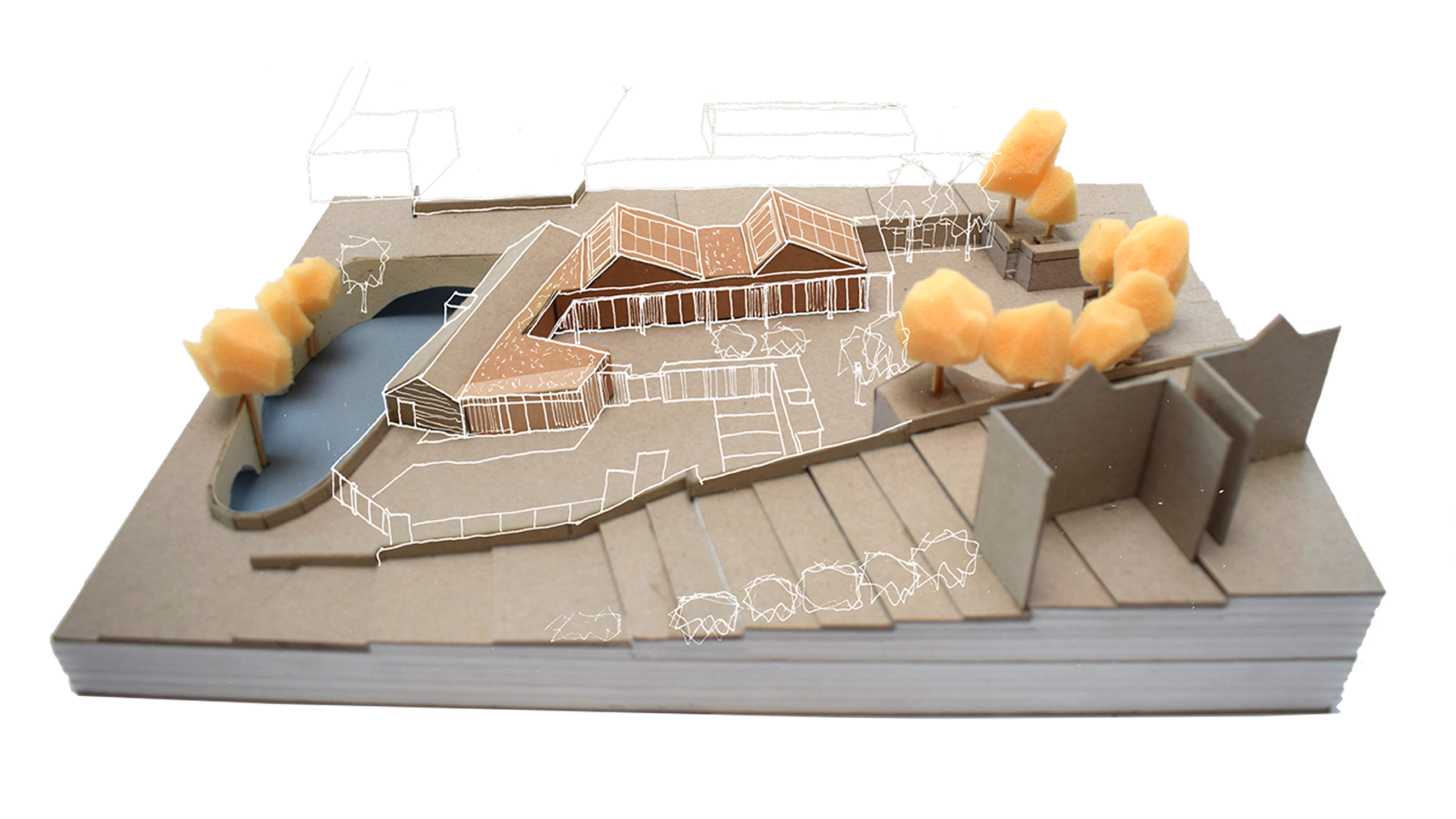 Sarah-Wigglesworth-Architects Portland-Nursery Model-2 1800-slide