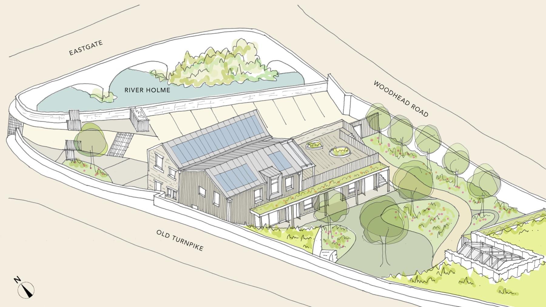 Sarah-Wigglesworth-Architects Portland-Nursery OverView 3600