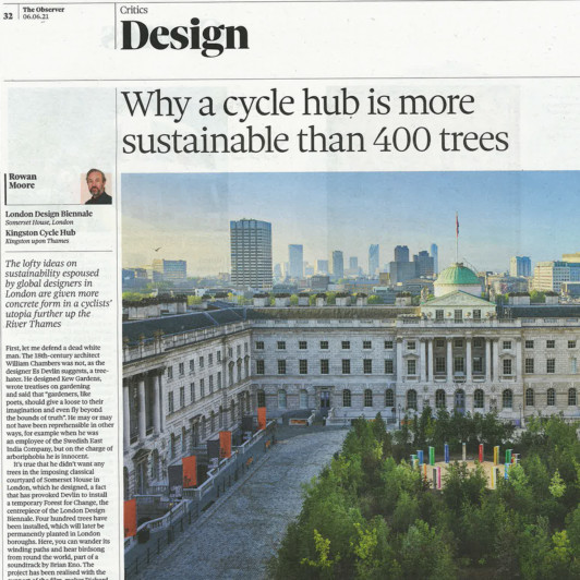 Why a cycle hub is more sustainable than 400 trees sq image