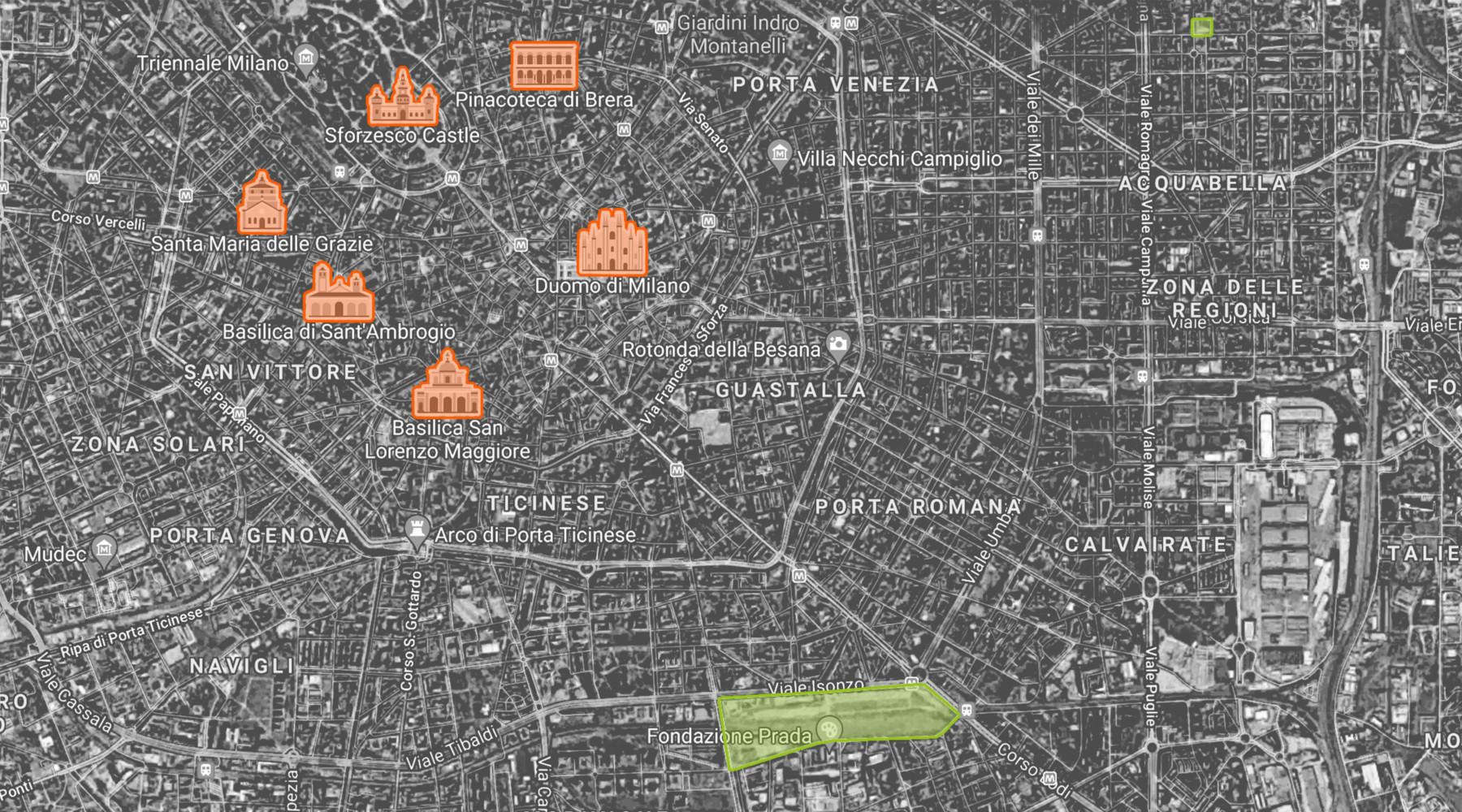 0. Milan map 3600