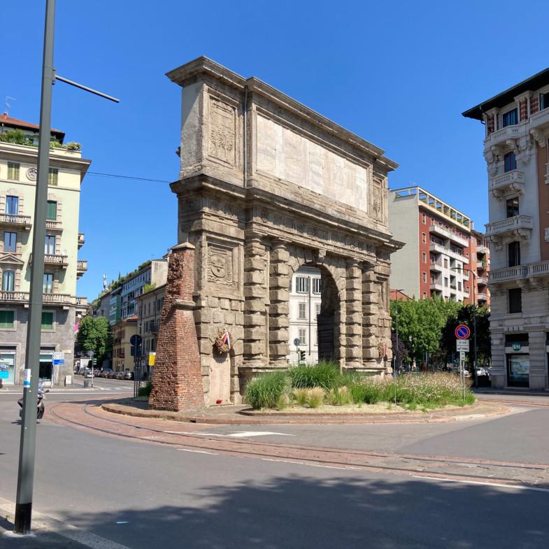 3. Porta Romana 1800